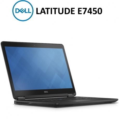"""DELL E7450   i5-5300U   8GB RAM   256GB MSATA   14""""    BATERIA NUEVA   W10Pro"""