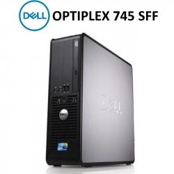 DELL 745 SFF / C2D E6400 / 2GB RAM / 160GB HDD / DVD / SIN SISTEMA OPERATIVO
