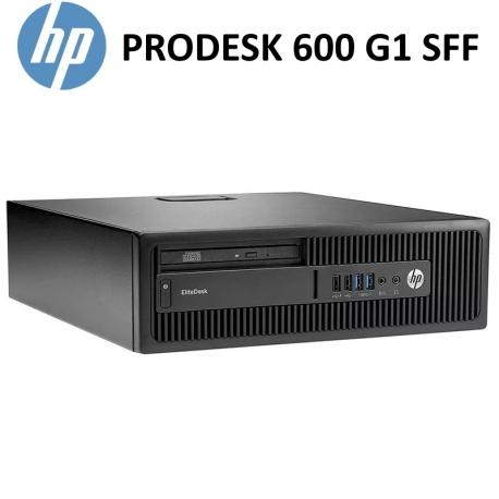 HP 600 G1 SFF / i5-4570S / 16GB RAM / 256GB SSD / DVD / W10Pro