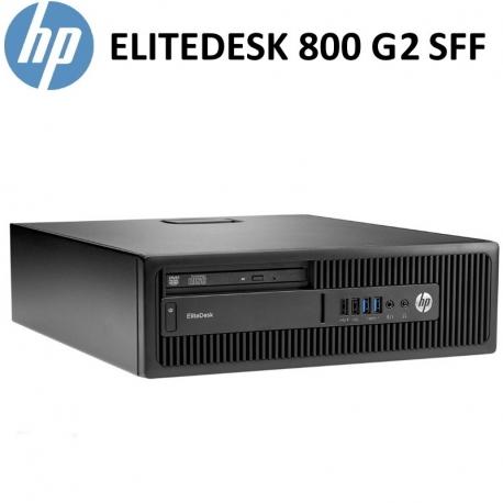 HP 800 G2 SFF / i5-6400T / 8GB RAM / 240GB SSD / DVD / W10Pro