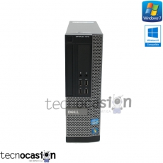 DELL 7010 SFF / i3-2120 3.3GHz / 8GB RAM / 1TB HDD / PC SOBREMESA