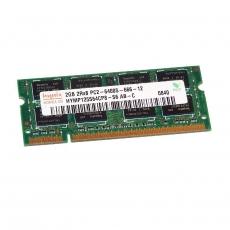 4GB (2x2GB) 2Rx8 PC2-6400S-666-12 SO-DIMM Memoria RAM Hynix