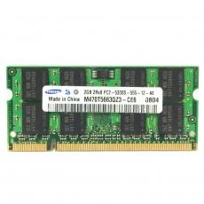 2GB (2x1GB) 2Rx16 PC2-5300S-555-12-A3 SO-DIMM Memoria RAM Samsung