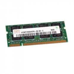 2GB (2x1GB) 2Rx16 PC2-6400S-666-12 SO-DIMM Memoria RAM Hynix