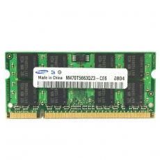 1GB 2Rx8 PC2-4200S-444-12-E3 SO-DIMM Memoria RAM Samsung