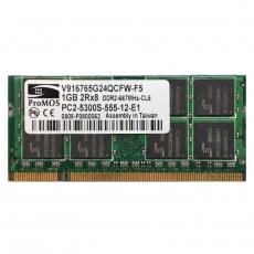 1GB 2Rx8 PC2-5300S-555-12-E1 SO-DIMM Memoria RAM ProMOS