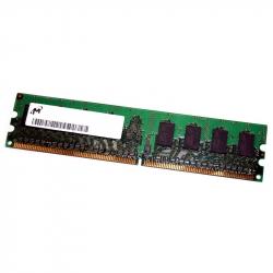 512MB 1Rx8 PC2-3200U-333-11-A0 DIMM Memoria RAM MICRON