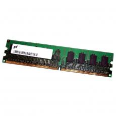 256MB 1Rx16 PC2-5300U-555-12-ZZ DIMM Memoria RAM MICRON