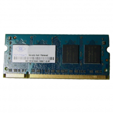 2GB 2Rx8 PC2-6400S-666-13-F1 SO-DIMM Memoria RAM NANYA