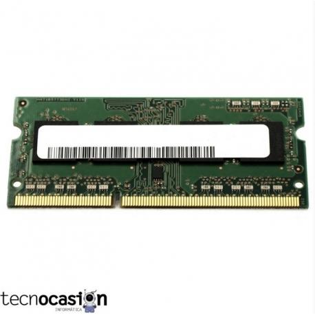 2Gb PC3 SODIMM Memoria RAM para PORTATIL / Varios Fabricantes