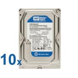 """Lote 10x HDD SATA 3,5"""" 250GB"""